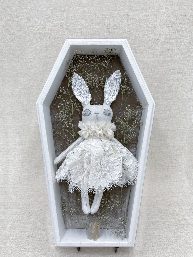 Isabella Couture Bunny Shadow Box Display