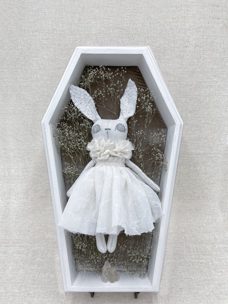 Antoinetta Couture Bunny Shadow Box Display