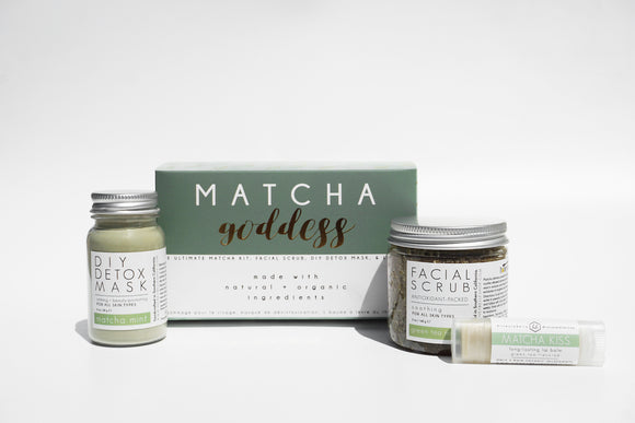Honey Belle - '''Holiday Gift Kit | Matcha Goddess Kit