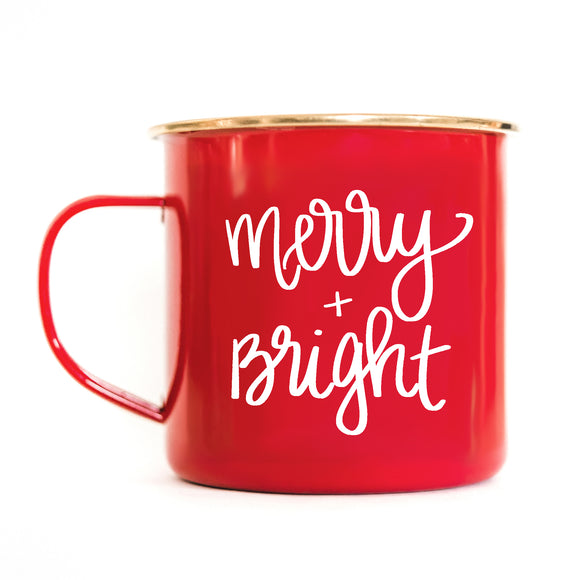 Sweet Water Decor - Merry and Bright Campfire Mug