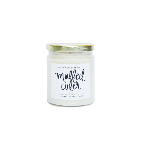 Sweet Water Decor - Mulled Cider Soy Candle 9oz.