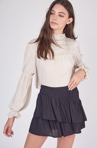 Sophisticated Smock Top