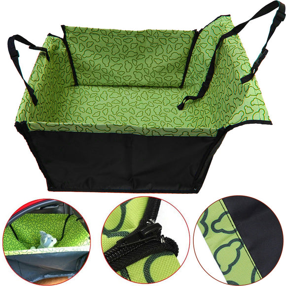 Pet Carrier Backseat Double Layer Washable Cover Mat