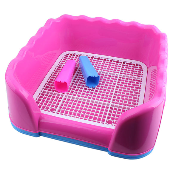 Cat Litter Box with Tray Nice Training Kittens