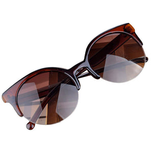 Sleek Cat Eye Sunglasses