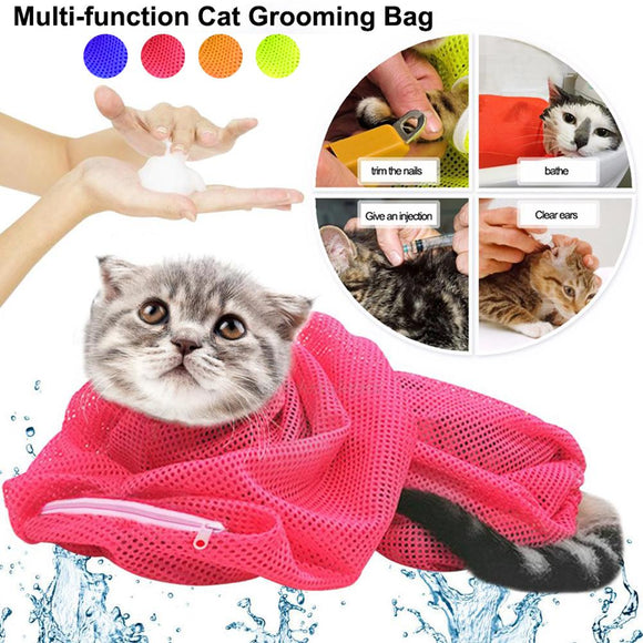 Cat Grooming Bag Washing Bath