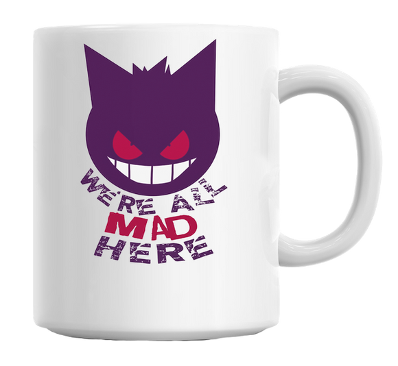 Gengar Cheshire Cat Mug