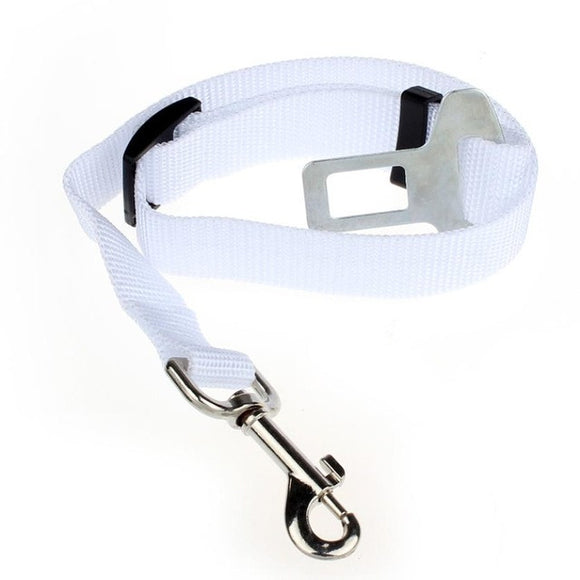 Cat and Dog Seat Belt Harness Lead Clip Pet Safety
