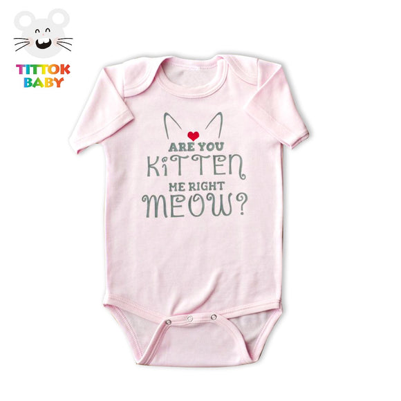 Very Cute -Are You Kitten Me Right Meow- Infant Tshirts