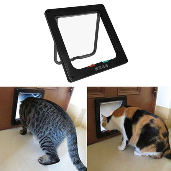 Intelligent Control Pet Cat Puppy Dog Gates Door With Switch Control Changeable Opening Direction Pet Tools