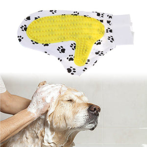 Pet Glove Brush For Medium to Long Hair Cats Dogs Pets