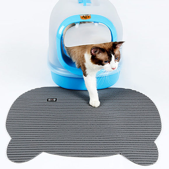 Cat Litter Mat Pad Paw Shape