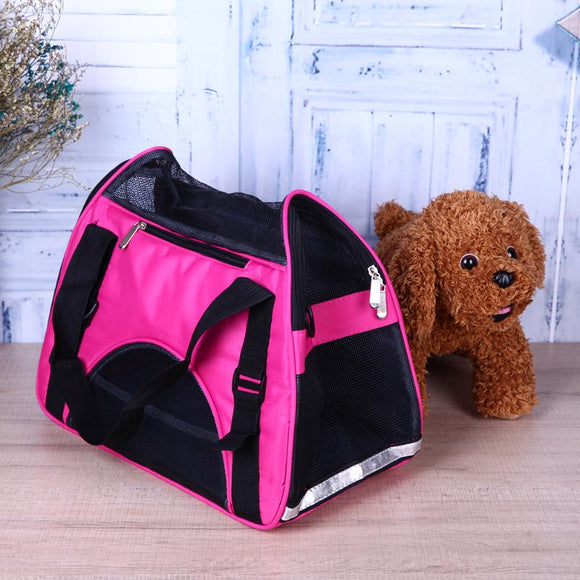 Carrier Bag for Pets Breathable with pouches