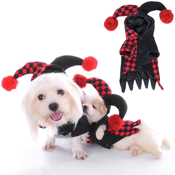 Halloween Cosplay Puppy Kitten Joker Apparel Costumes Many Sizes