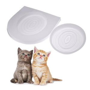 Cat Toilet Training Seat Litter Kit Easy to Learn