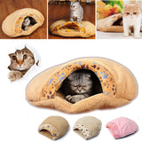 Kitten Cave Warm Winter Bed House