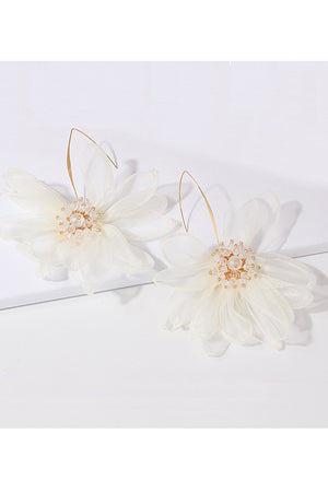 Eyes on the Prize Petal Flower Earrings