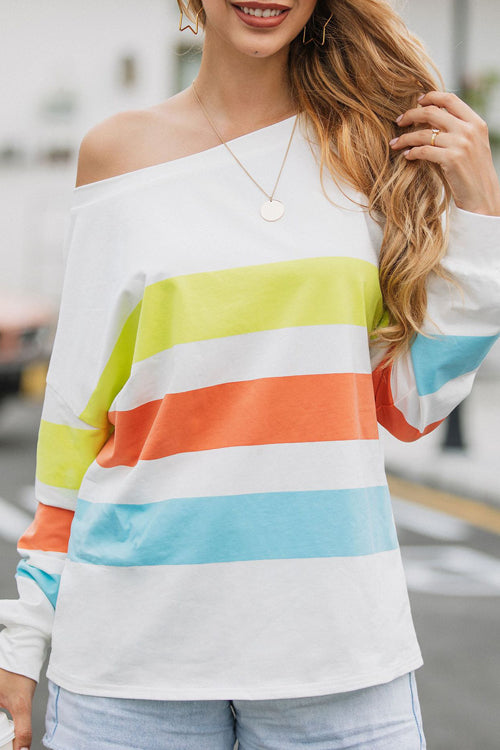 Easy Feeling Striped Oversize Top - 3 Colors