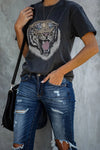 A Little Wide Animal Print Tee - 2 Colors