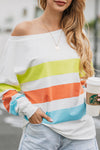 Better with You Colorful Stripe Shirt - 3 Colors