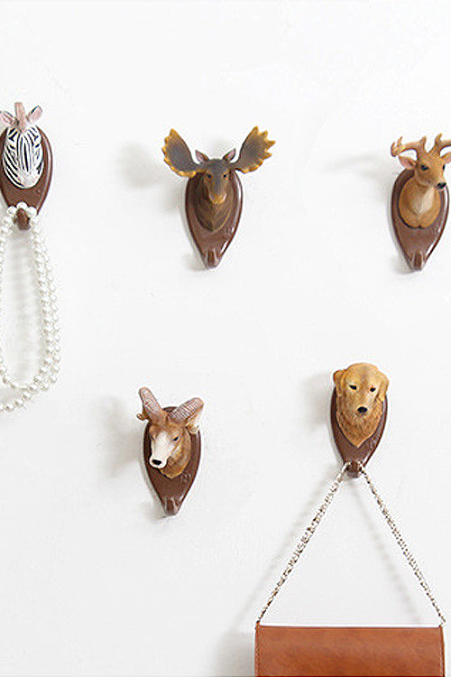 Animal Resin Mural Hook