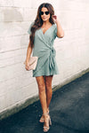 Lifetime of Love Wrap Mini Dress - 6 Colors