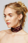Rivet Layered Cool Choker