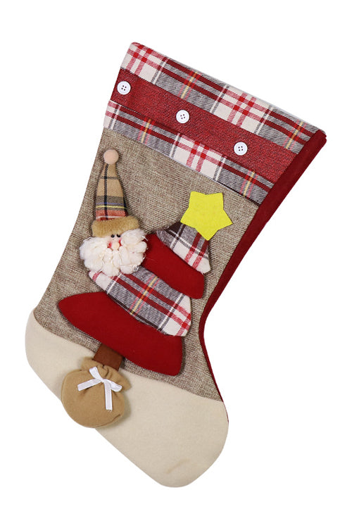 Christmas Candy Bag Socks