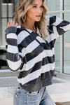 Sweet Love of Mine Striped Knit Pullover