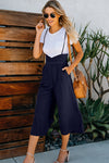 Fun for Now Spaghetti Wide-Leg Jumpsuit - 3 Colors