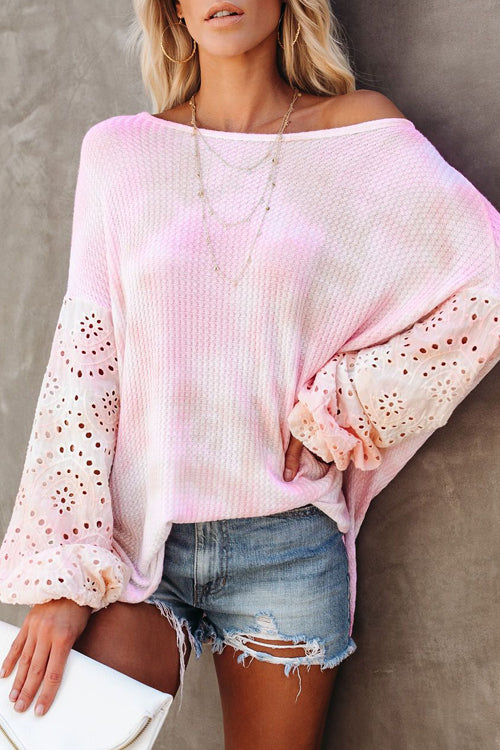 Always Lovely Tie-Dye Long Sleeve Top - 2 Colors