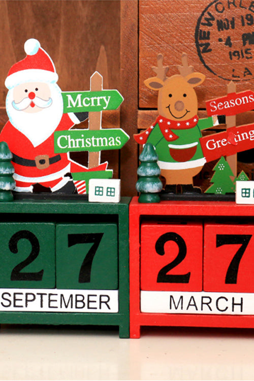 Christmas Wooden Mini Calendar