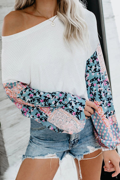 Brighter Days Floral Printed Long Sleeve Top - 3 Colors