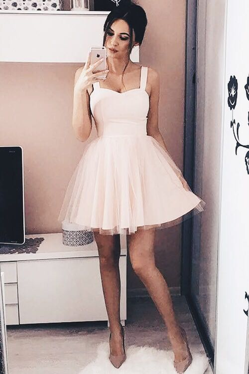 Fit&Flare Tulle Mini Dress