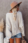 Keep You Close Drop Shoulder Knit Sweater