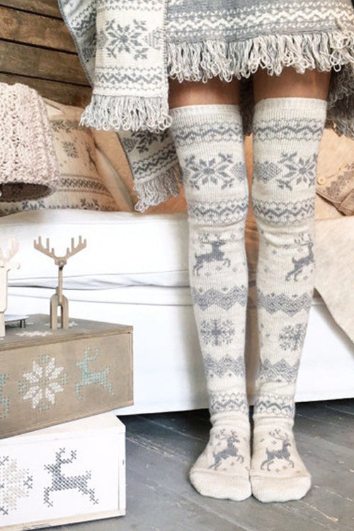 Warm Elk Stocking