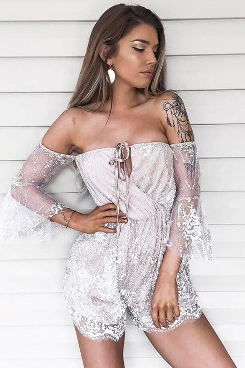 Sparkle Tulle Double-wear Party Romper