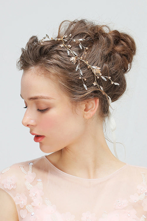 Crystal Leaves Hairband