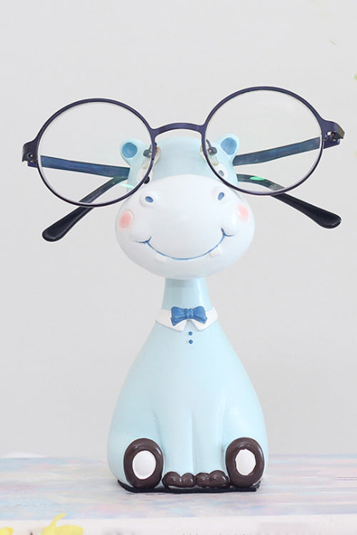 Lovely Hippo Resin Glasses Rack