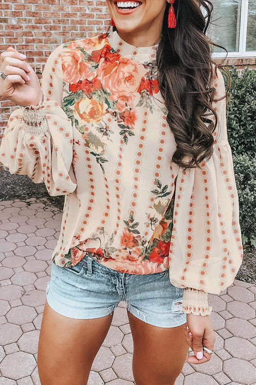 Sorry I'm a Lady Floral Print Top - 3 Colors
