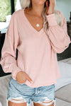 My Darling V-Neck Knit Top - 3 Colors