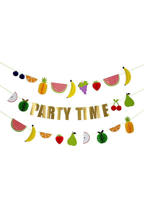 Party Time Summer Fruit Decoration
