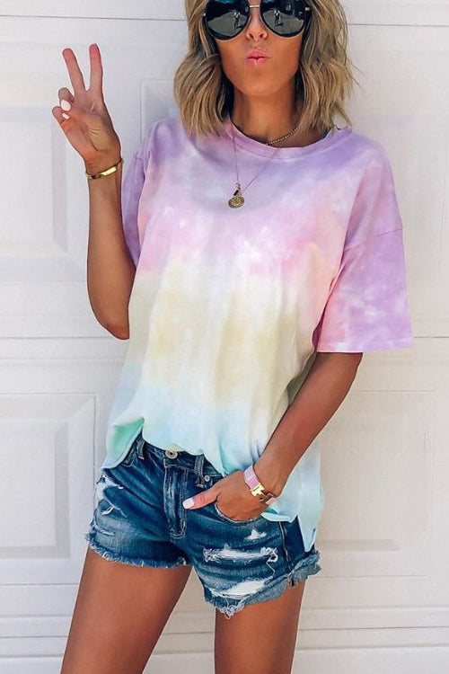 Gotta Have It Rainbow Print Tee