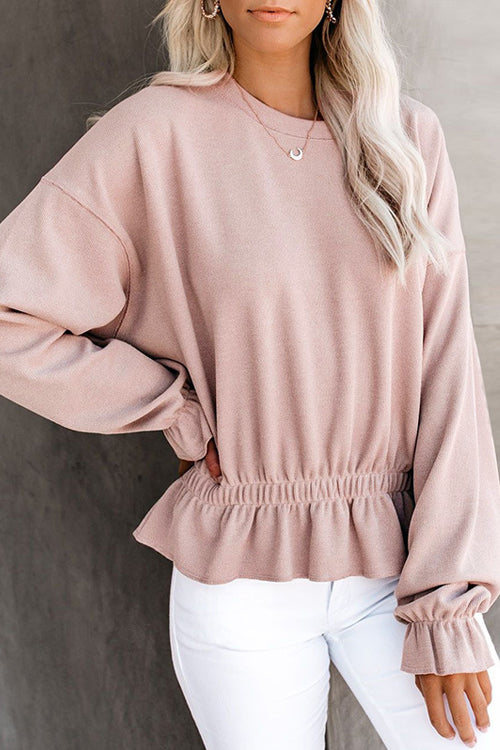 Romance Forever Long Sleeve Knit Top - 2 Colors