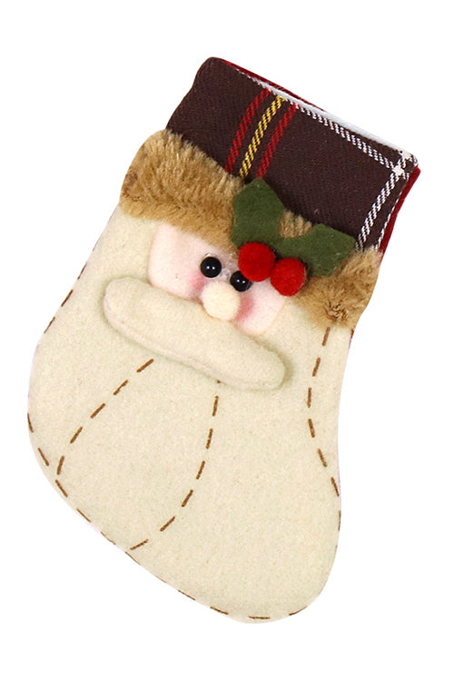 Mini Christmas Candy Bag Socks