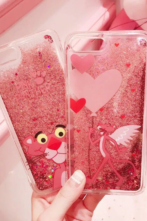 Pink Panther Quicksand Iphone Case