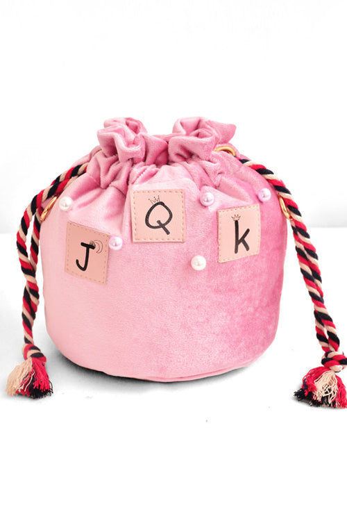 Velvet JQK Pearl Bucket Bag