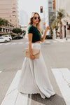 City View Pleated Maxi Skirt - 6 Colors
