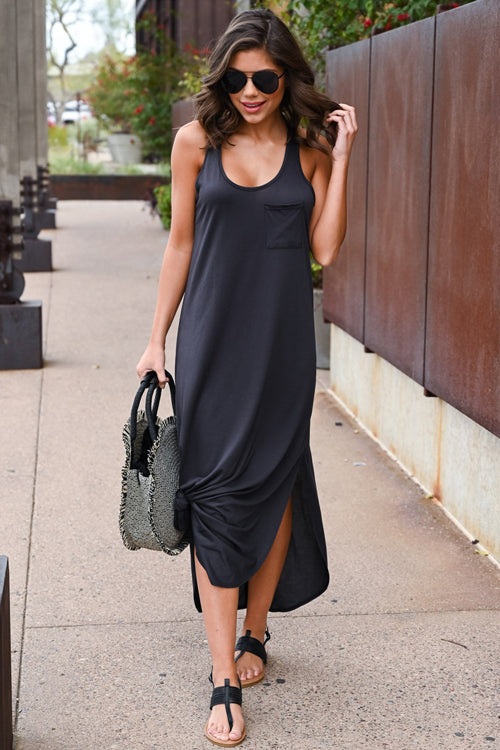 All About Love Bowknot Tank Maxi Dress - 3 Colors