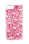 Pink Flamingo Quicksand Iphone Case